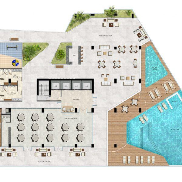 Coronado Beach Floorplan