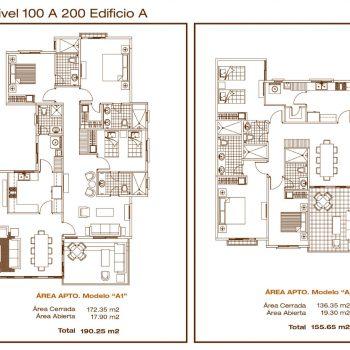 San Carlos Beach - Floorplan