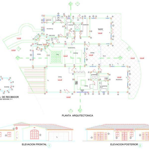 San Carlos Beach Villas - Floorplan
